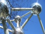 Atomium alulról